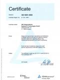 DIN ISO 9001:2008 Certificate 2017